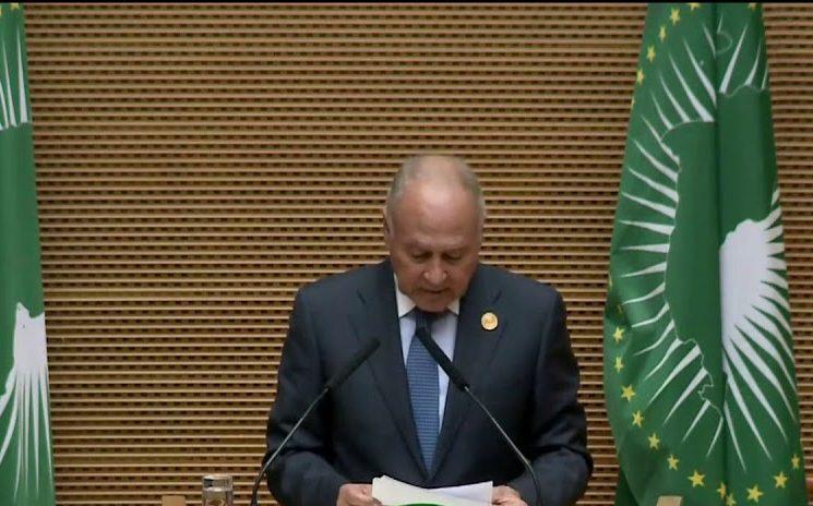 أبو الغيط: الرئيس السيسي قدم إنجازات كبيرة للقارة خلال ترأسه للاتحاد الأفريقى