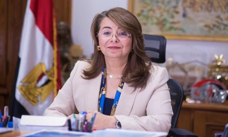 غادة والى تتسلم مهام عملها الجديد فى الأمم المتحدة بفيينا