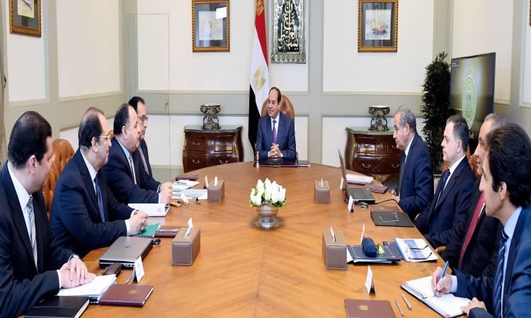 الرئيس السيسى: اتخاذ الإجراءات اللازمة لتحديث منظومة المخابز بالمحافظات