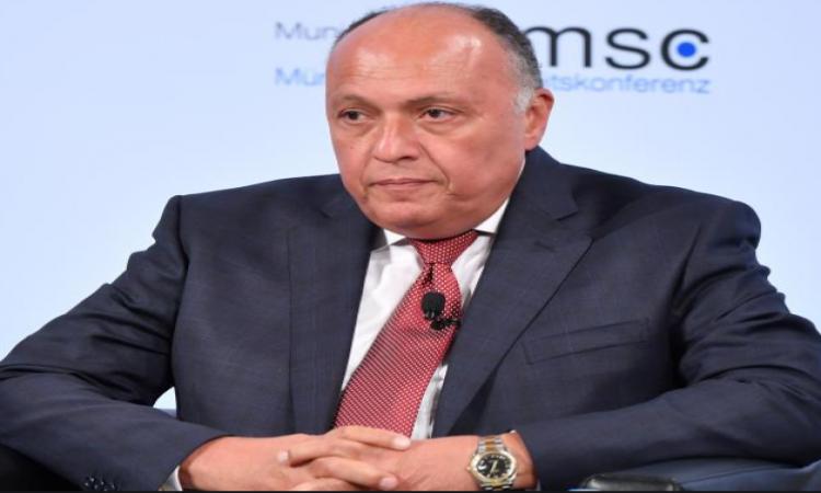سامح شكرى يعود للقاهرة بعد مشاركته فى اجتماعات سد النهضة بواشنطن وميونخ للأمن