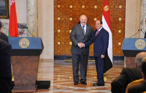 الرئيس البيلاروسي : توقيع اتفاقيات ومذكرات مع مصر لتعزيز التعاون