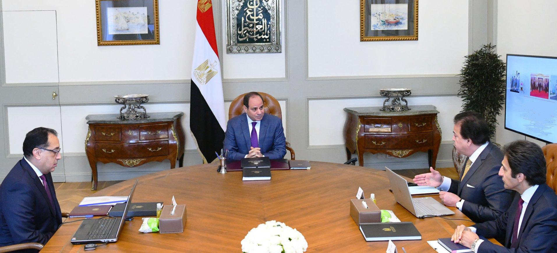 نشاط الرئيس السيسي والنشاط الدبلوماسي المكثف يتصدران عناوين الصحف