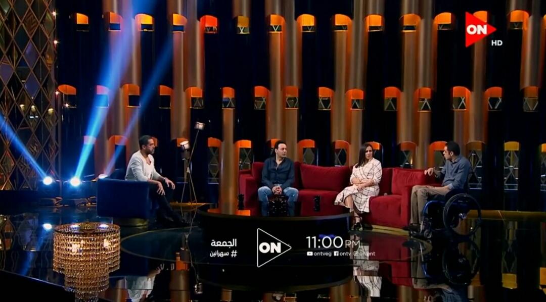 "فيديو| إيمي سمير غانم ومصطفى قمر ضيفا برنامج ""سهرانين"""