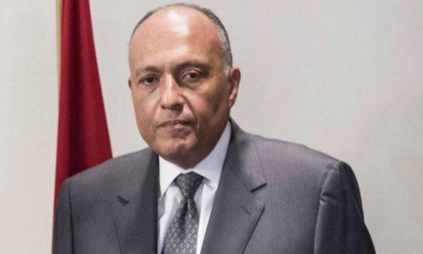 وزير الخارجية يشيد بتنظيم وتأمين انتخابات مجلس الشيوخ