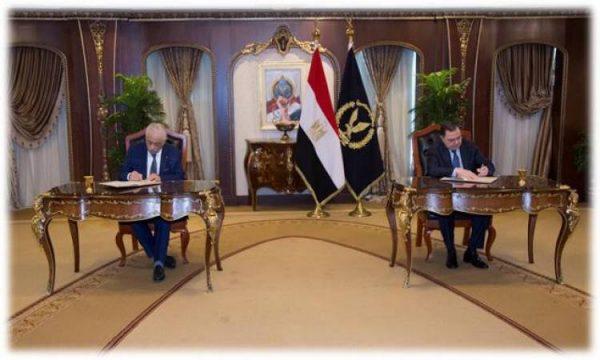 الداخلية توقع بروتوكول تعاون مع وزارة التربية والتعليم
