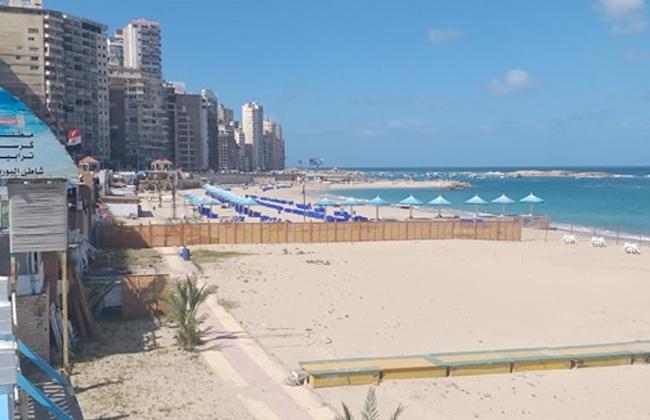 تنفيذا لقرار المحافظ.. إغلاق 61 شاطئا في الإسكندرية