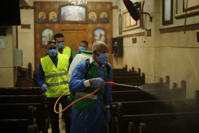 النائب أبو العينين ينظم حملة لتطهير مساجد وكنائس جنوب الجيزة
