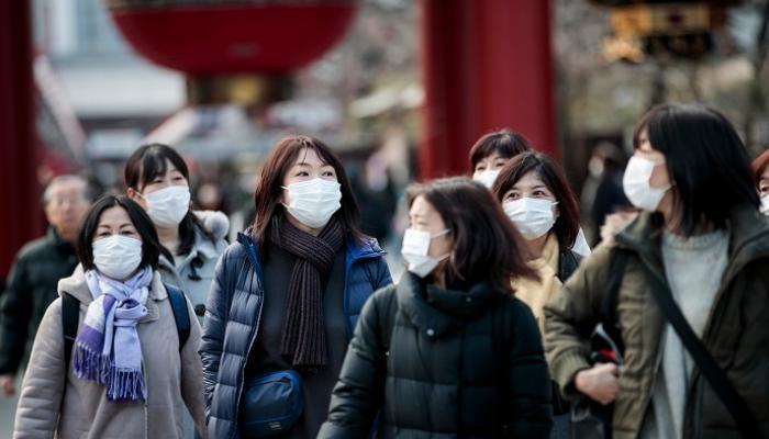 اليابان تسجل 2685 إصابة جديدة بفيروس كورونا بينها 418 حالة فى العاصمة