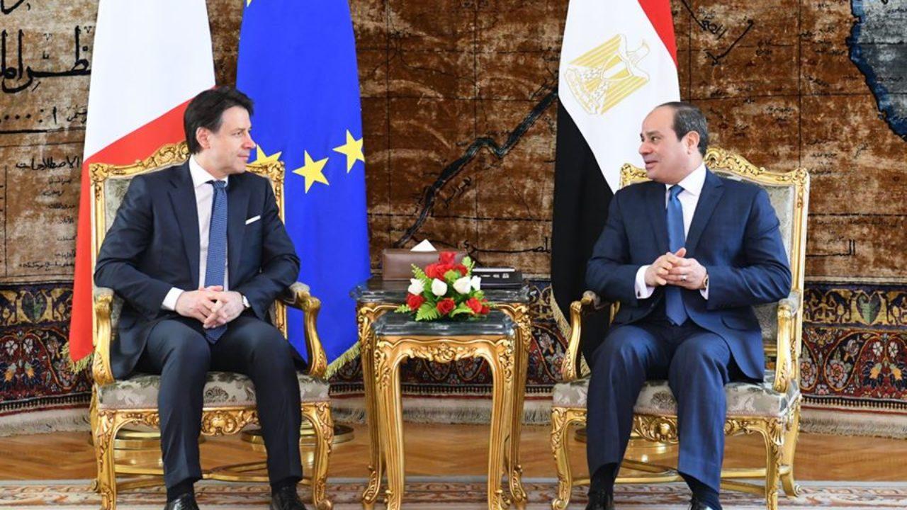 الاتصال الهاتفي بين السيسي ورئيس وزراء إيطاليا يتصدر اهتمامات الصحف