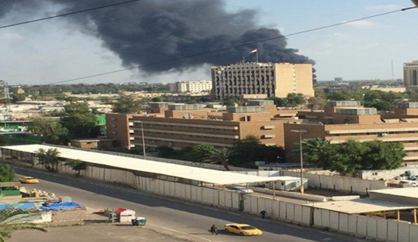 مصدر أمني عراقي: تعرض المنطقة الخضراء وسط بغداد إلى قصف صاروخي