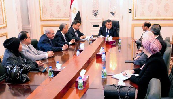 أسامة هيكل يلتقي برئيس وأعضاء الهيئة الوطنية للصحافة