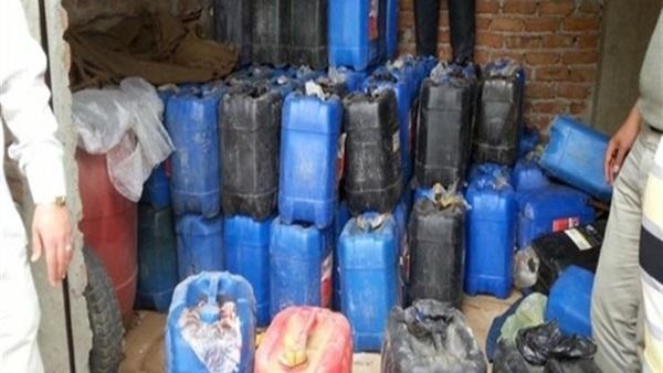 ضبط تشكيل عصابي تخصص في سرقة المواد البترولية بالسويس
