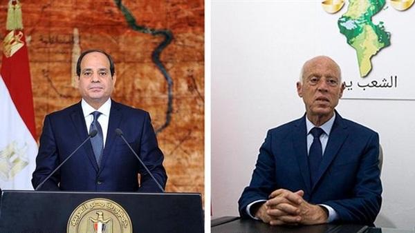 """اتصال الرئيس السيسي ونظيره التونسي حول مكافحة """"كورونا"""" يتصدر عناوين الصحف"""
