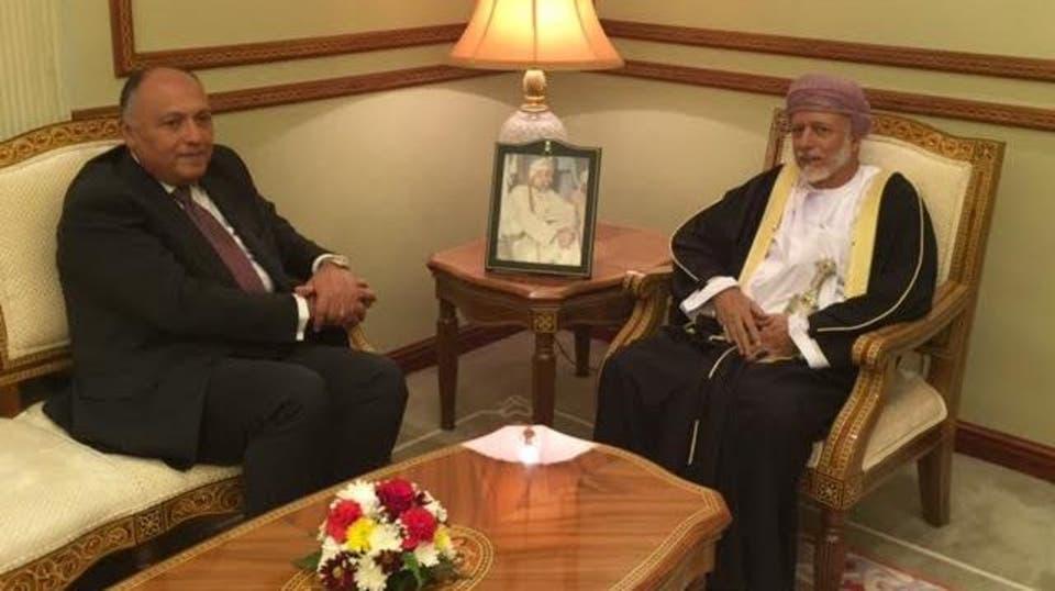 وزير الخارجية يؤكد لنظيره العماني مساندة مصر لأمن واستقرار دول الخليج