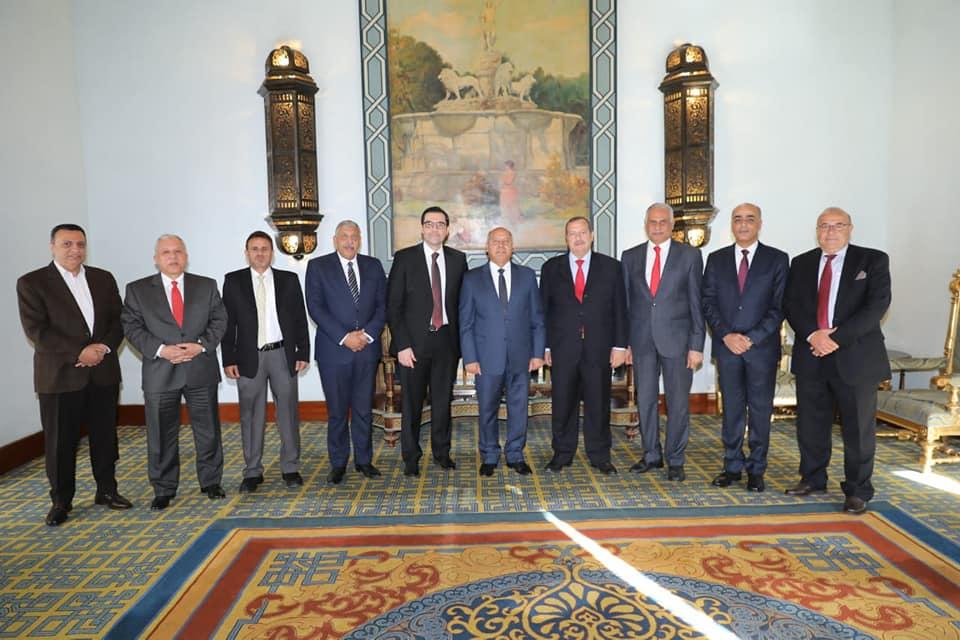 صور   وزير النقل يترأس الاجتماع ال 74 للجمعية العمومية لشركة الجسر العربي للملاحة