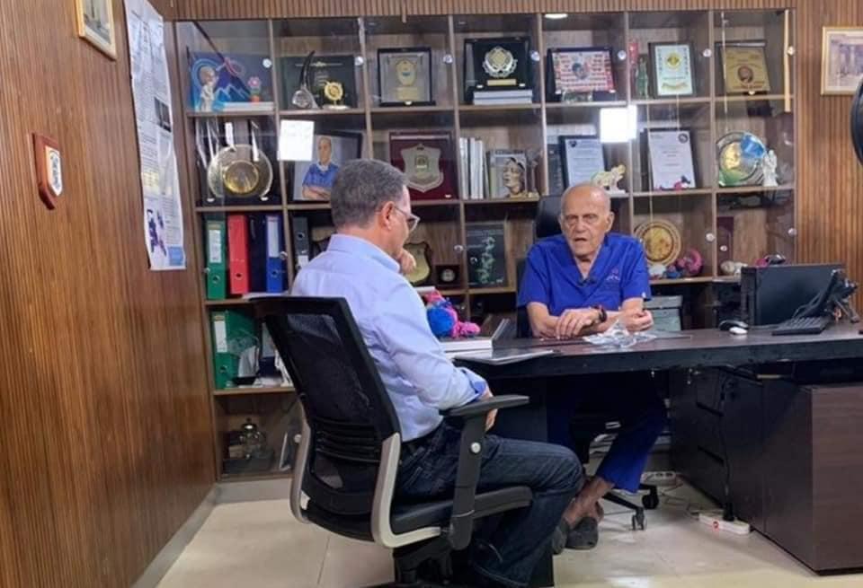 شريف عامر يحاور الليلة مجدي يعقوب من داخل مركز القلب بأسوان على MBC مصر
