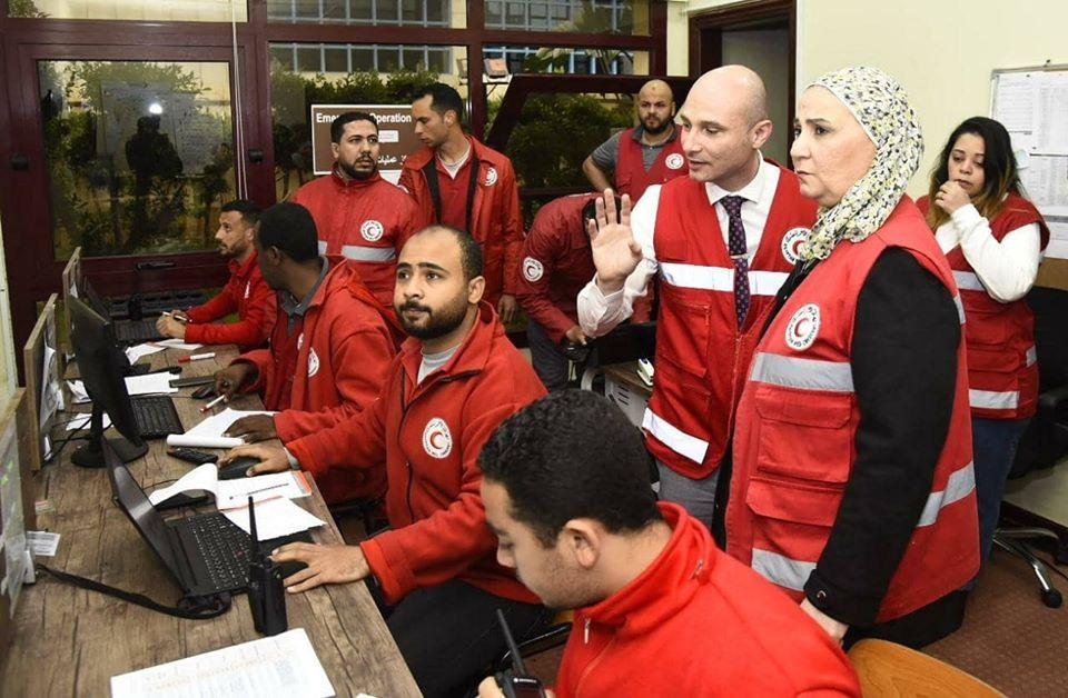 صور| وزيرة التضامن: غرفة عمليات مركزية على مدار 24 ساعة لمواجهة موجه الطقس السيئ