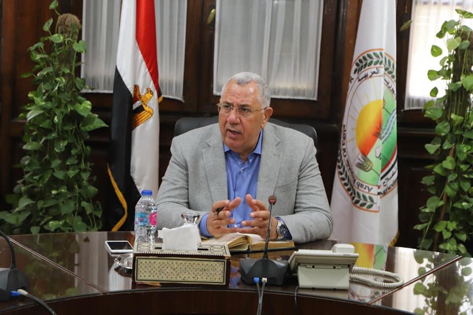 وزير الزراعة يشيد بمبادرة البنك الزراعي لتسوية ديون الفلاحين المتعثرين