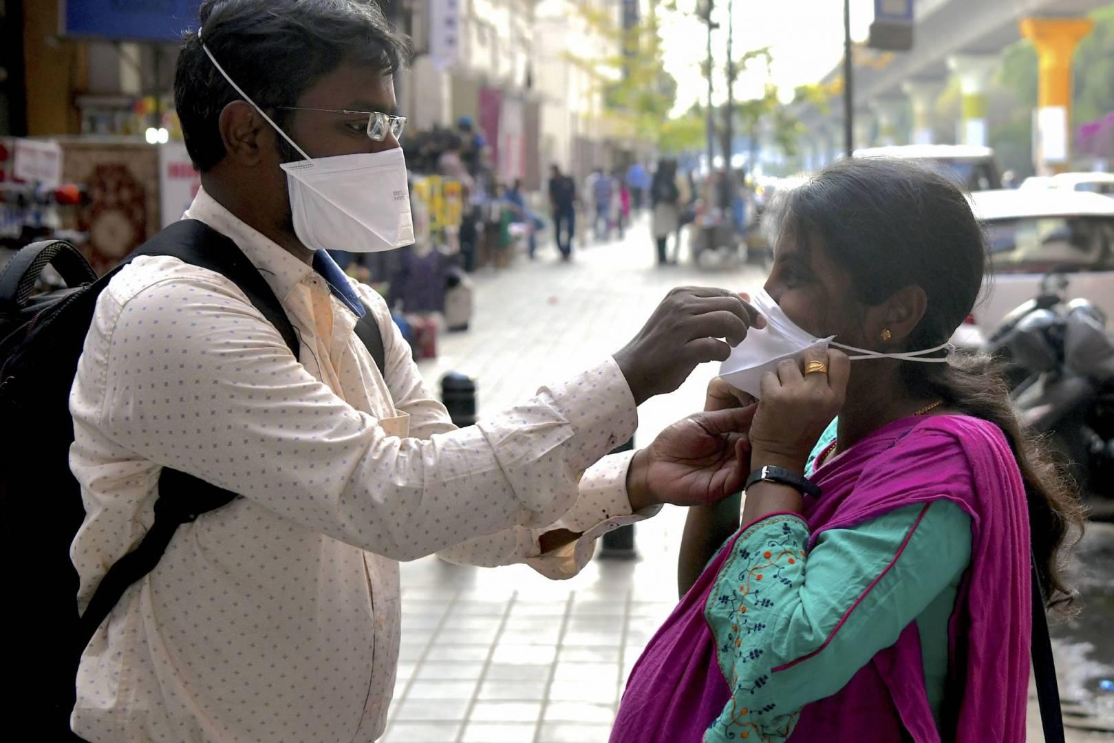 الهند تسجل أقل حصيلة يومية بإصابات كورونا منذ 4 أشهر