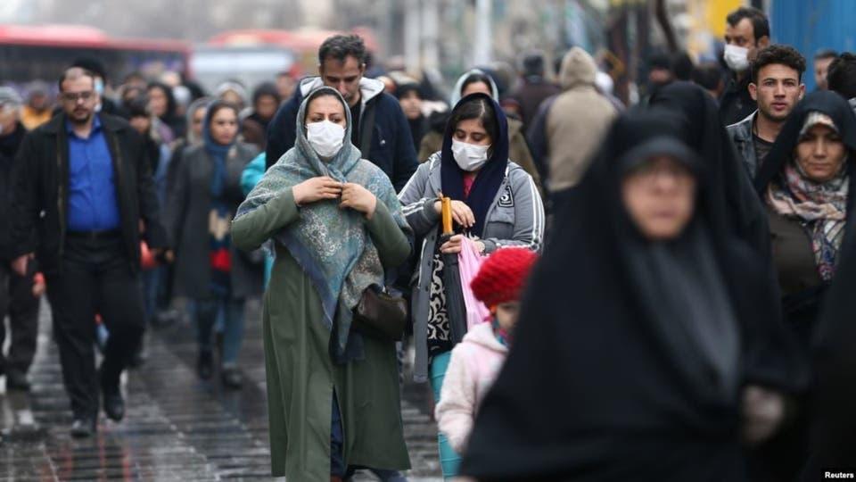 إيران تسجل 2697 إصابة جديدة بفيروس كورونا