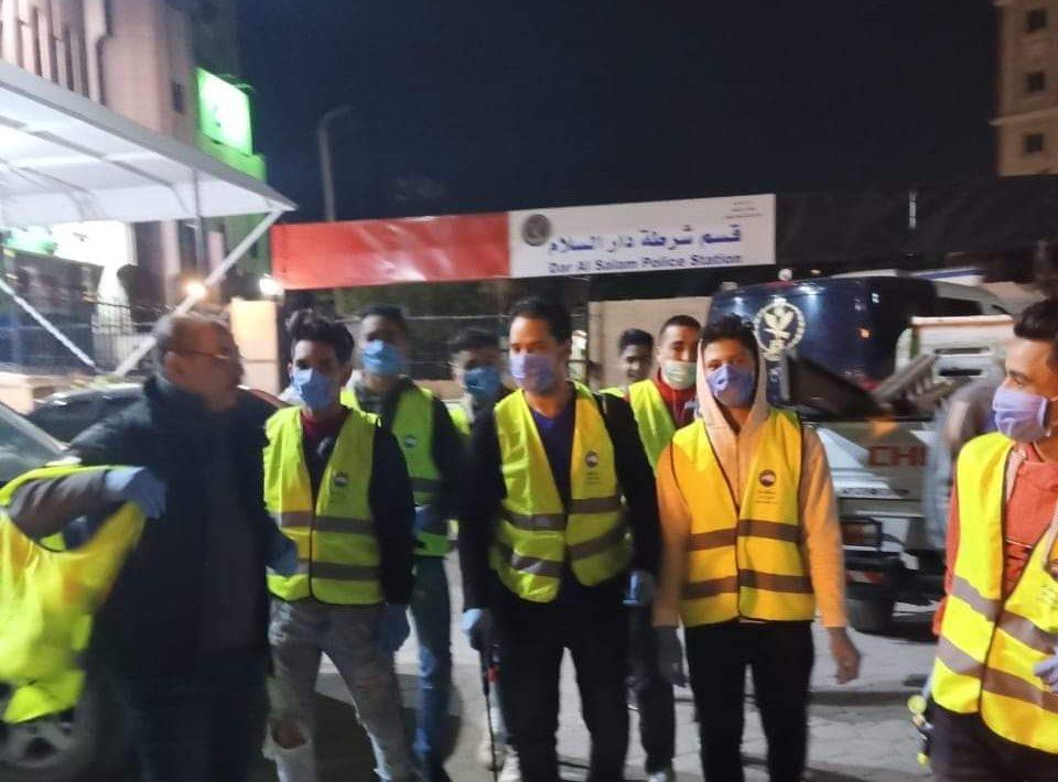 نائب دار السلام: شباب «مستقبل وطن» يشارك في حملات تطهير الدائرة