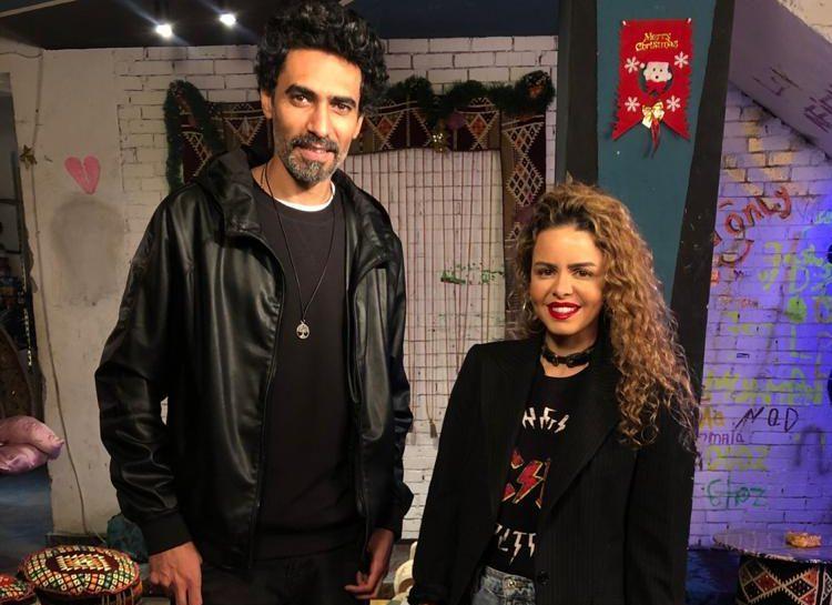 الفنان محمد علاء ورانيا شاهين ضيفا شيرين حمدى على ON Set  الجمعة المقبلة