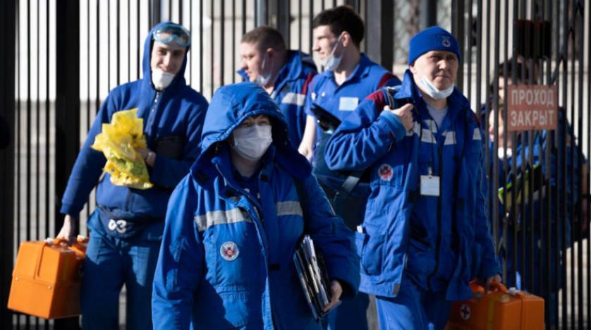 روسيا تعلن إجراء أكثر من 6.9 مليون اختبار للكشف عن فيروس كورونا