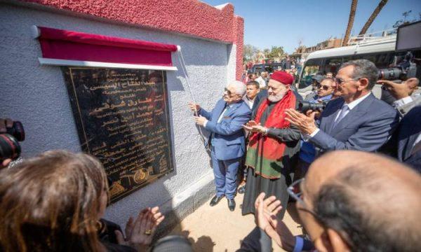 تحيا مصر يفتتح المرحلة الأولى من تطوير قرية الشيخ زين الدين بسوهاج