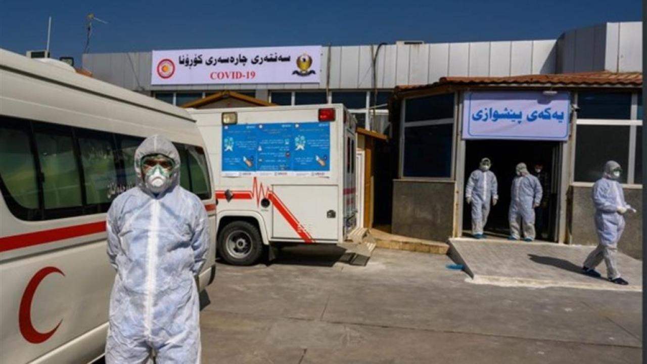 إقليم كردستان العراقى يسجل 860 إصابة جديدة بفيروس كورونا
