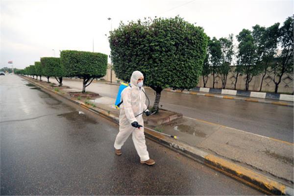 تطهير وتعقيم المناطق الشعبية بالإسكندرية للحد من انتشار «كورونا»