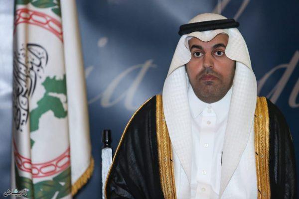 رئيس البرلمان العربي يرحب بإعلان التحالف وقف إطلاق النار الشامل باليمن