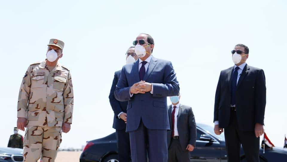 """رسائل الرئيس السيسي لطمأنة الشعب حول مكافحة """"كورونا"""" تتصدر عناوين الصحف"""