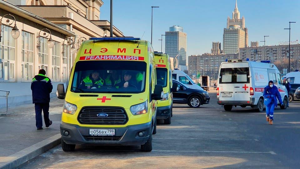روسيا تسجل 6368 إصابة جديدة بفيروس كورونا والإجمالي يتخطى 694 ألفا