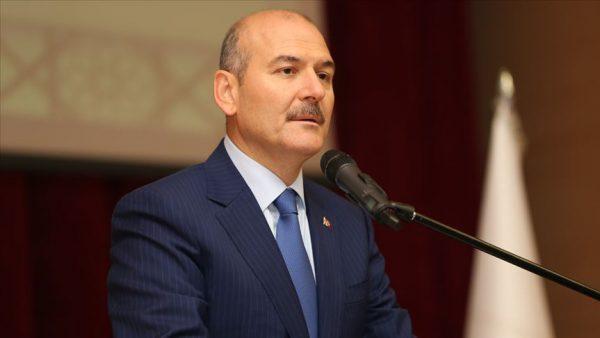 وزير الداخلية التركي يعلن استقالته من منصبه