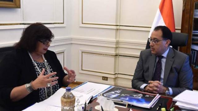 """""""مدبولي"""" يستعرض تقريرا حول فعاليات وزارة الثقافة خلال مارس الماضي"""