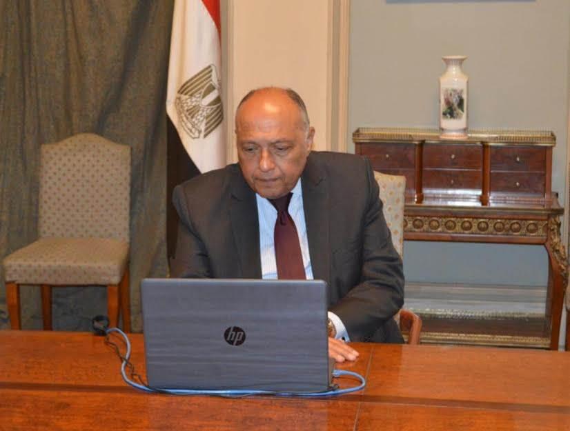 وزير الخارجية يجري اتصاليّن هاتفييّن مع نظيريّه الفرنسي والألماني لبحث تطورات الأوضاع في ليبيا