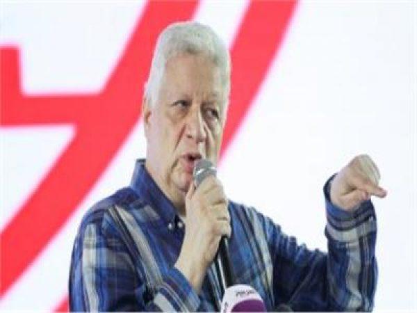 فيديو  رئيس الزمالك: مش هكمل الدوري لو رجع
