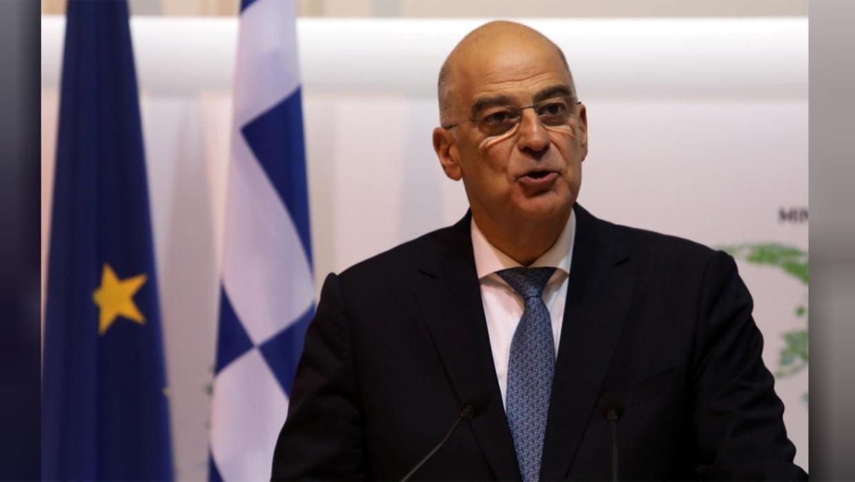 وزير خارجية اليونان يبحث مع سفير أمريكا بأثينا التوترات فى شرق المتوسط