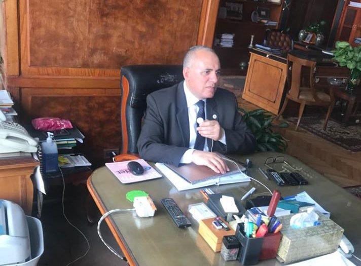 صور | وزير الري تبحث استخدام تكنولوجيا الاستشعار عن بُعد فى مجال إدارة الموارد المائية