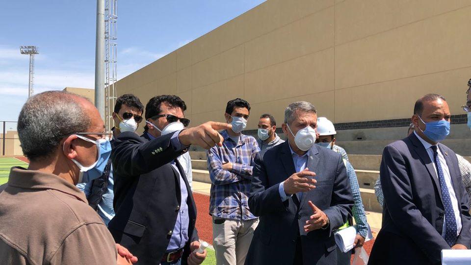 وزير الرياضة يشهد انطلاق أكبر حملة تعقيم لمراكز الشباب لمواجهة كورونا