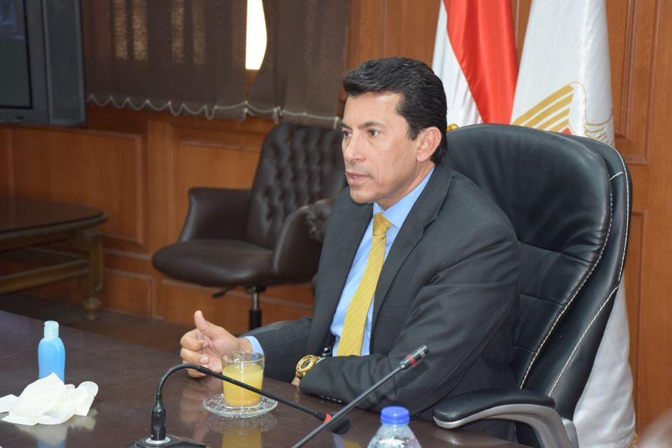 وزير الشباب والرياضة: لا يوجد قرارات لوقف النشاط الرياضي إلا من لجنة الأزمات