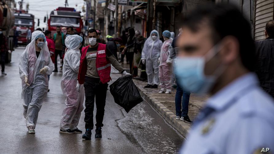 الصحة السورية تسجل 9 إصابات جديدة بفيروس كورونا المستجد