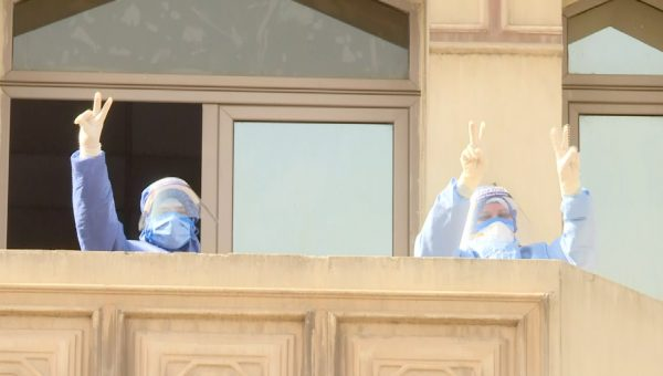 المتحدة تحتفل بشم النسيم وتشيع البهجة حول مستشفيات العزل