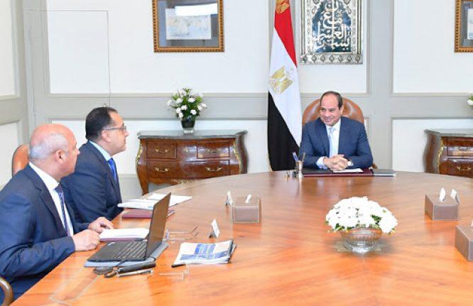 الرئيس السيسي يوجه باستمرار مشروعات الطرق والمحاور وتحديث منظومة النقل