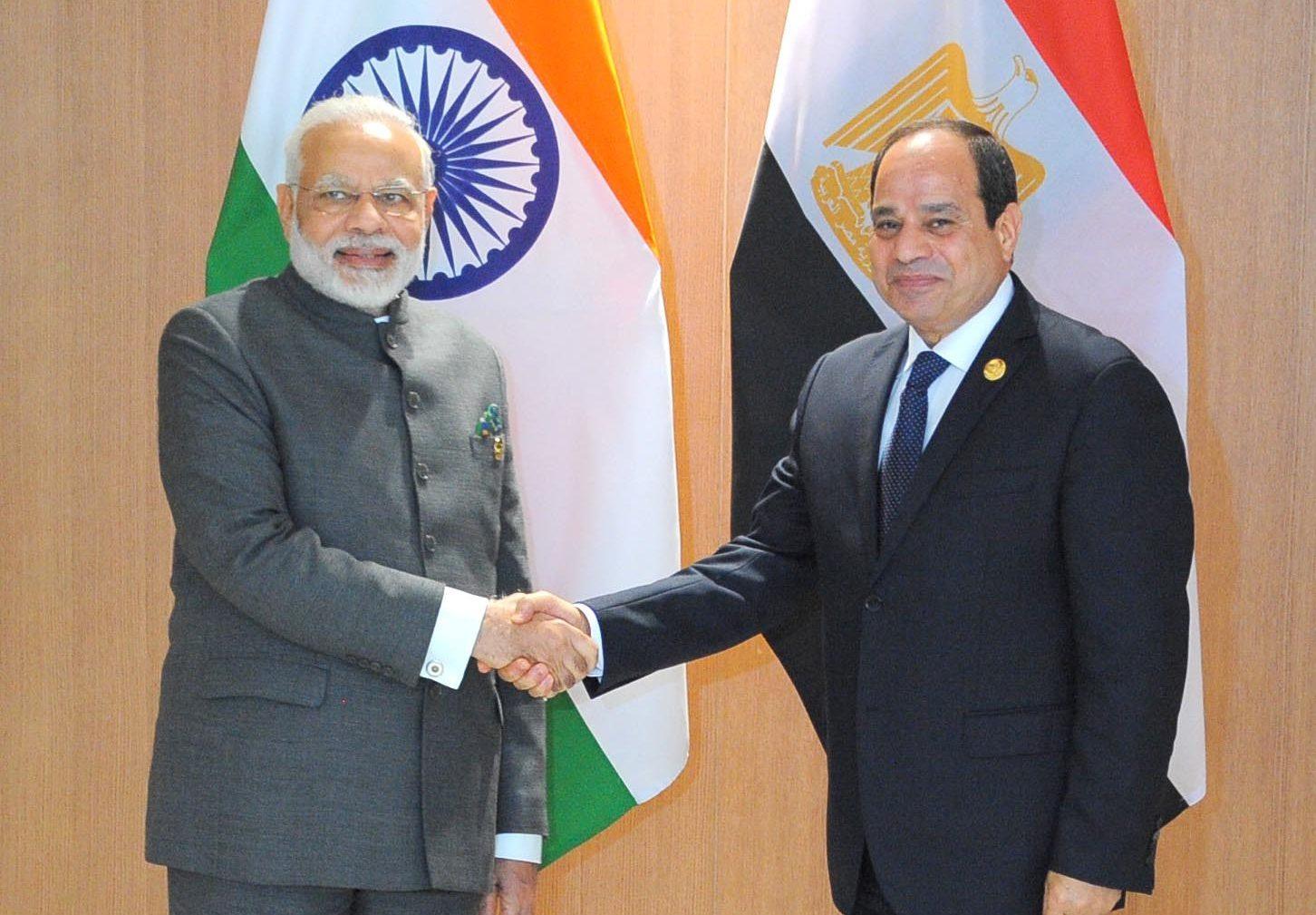 السيسي يبحث هاتفيًا مع رئيس وزراء الهند تبادل الخبرات لمكافحة كورونا