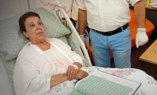 أول صورة للفنانة رجاء الجداوي بعد إصابتها بفيروس كورونا
