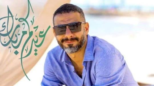 محمد فراج لجمهوره: عيدكم سعيد