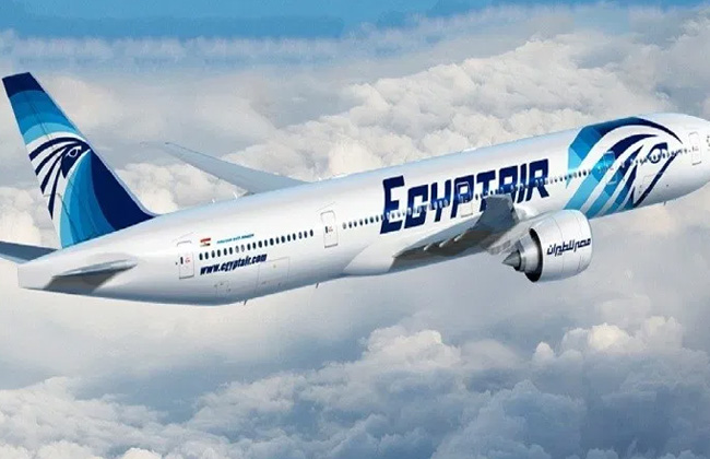 مصر للطيران تنظم اليوم 37 رحلة خارجية لنقل 3800 راكب