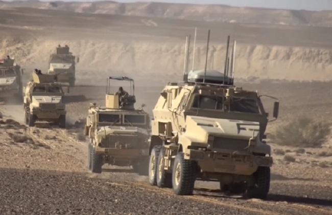 القوات المسلحة: مقتل 3 عناصر تكفيرية شديدي الخطورة في سيناء