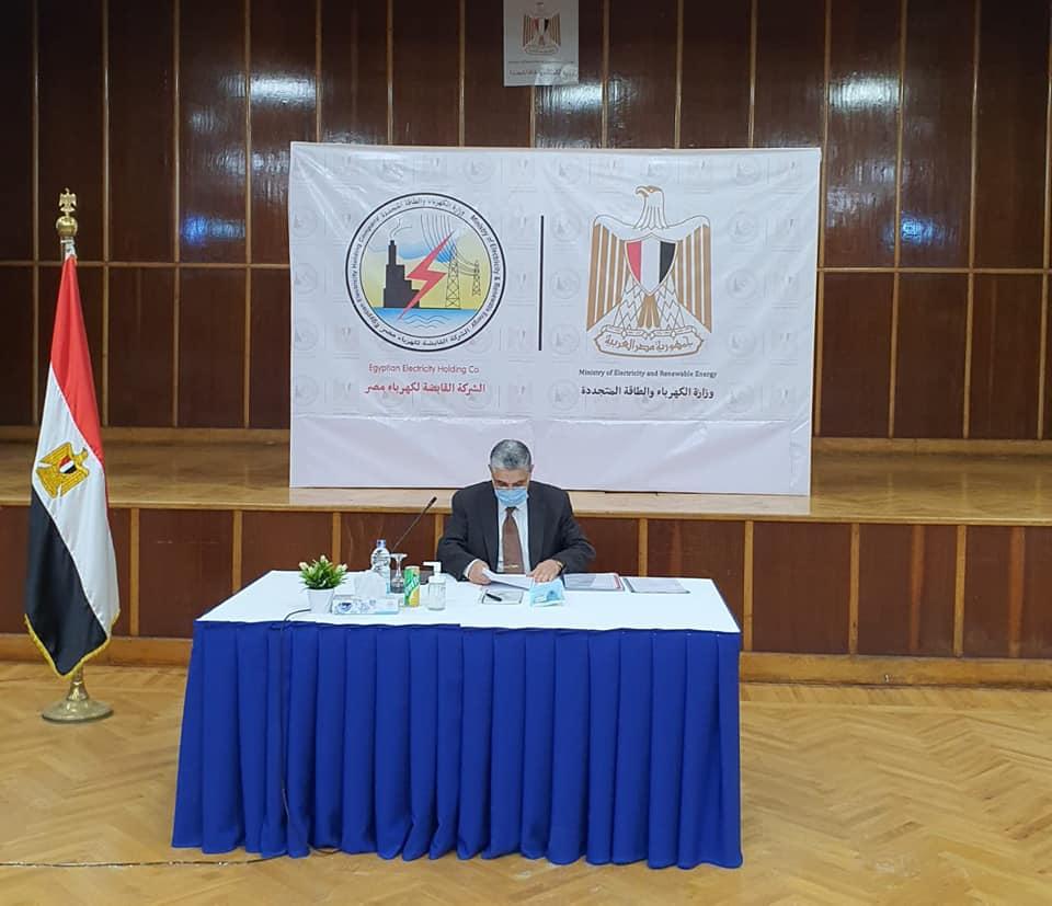 محمد شاكر يرأس الجمعية العمومية للشركة القابضة لكهرباء مصر